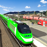 Cover Image of Download City Train Driver Simulator 2019: Free Train Games APK