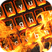 Burning Animated Keyboard + Live Wallpaper