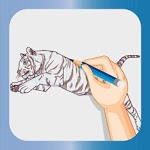 Download How to Draw Tiger - Drawing Super Animals APK