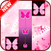 Download Pink Butterfly Piano Tiles 2018 APK