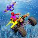 Underwater Flying ATV Quad Bike Shooting